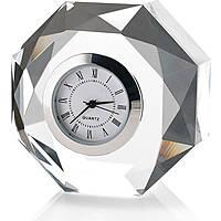 Cornici Valenti, orologio in cristallo ottagonale, 12605