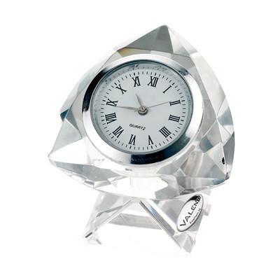 Cornici Valenti, orologio in cristallo piccolo 12631