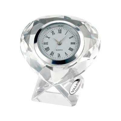 Cornici Valenti, orologio in cristallo piccolo 12634