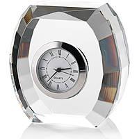 Cornici Valenti, orologio in cristallo stondato, 12606