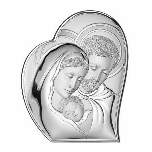 """Cornici Valenti, pannello sacro """"Sacra Famiglia"""" 81050 3L COL"""