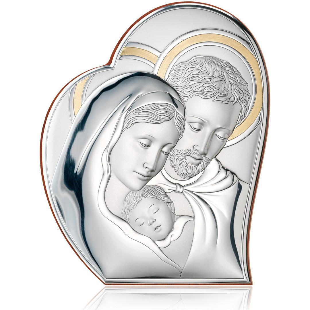 """Cornici Valenti, pannello sacro """"Sacra Famiglia"""" 81050 6LORO"""