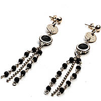 ear-rings woman jewellery 4US Cesare Paciotti Black Harmony 4UOR1831W