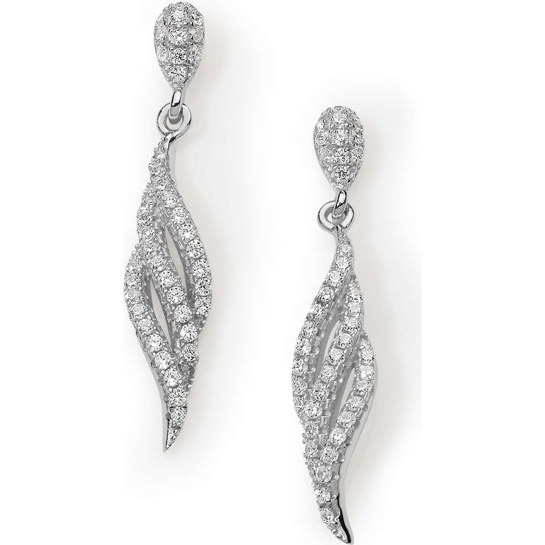 ear-rings woman jewellery Ambrosia Ambrosia Argento AAO 116