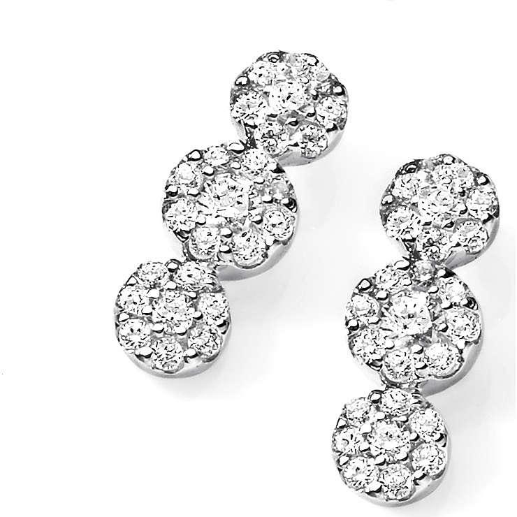 ear-rings woman jewellery Ambrosia AOZ 123