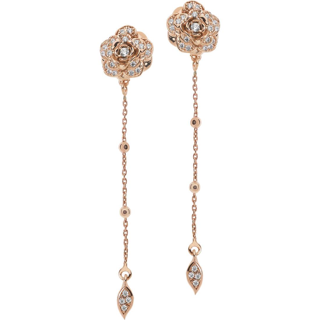 ear-rings woman jewellery Ambrosia Boho AAO 127