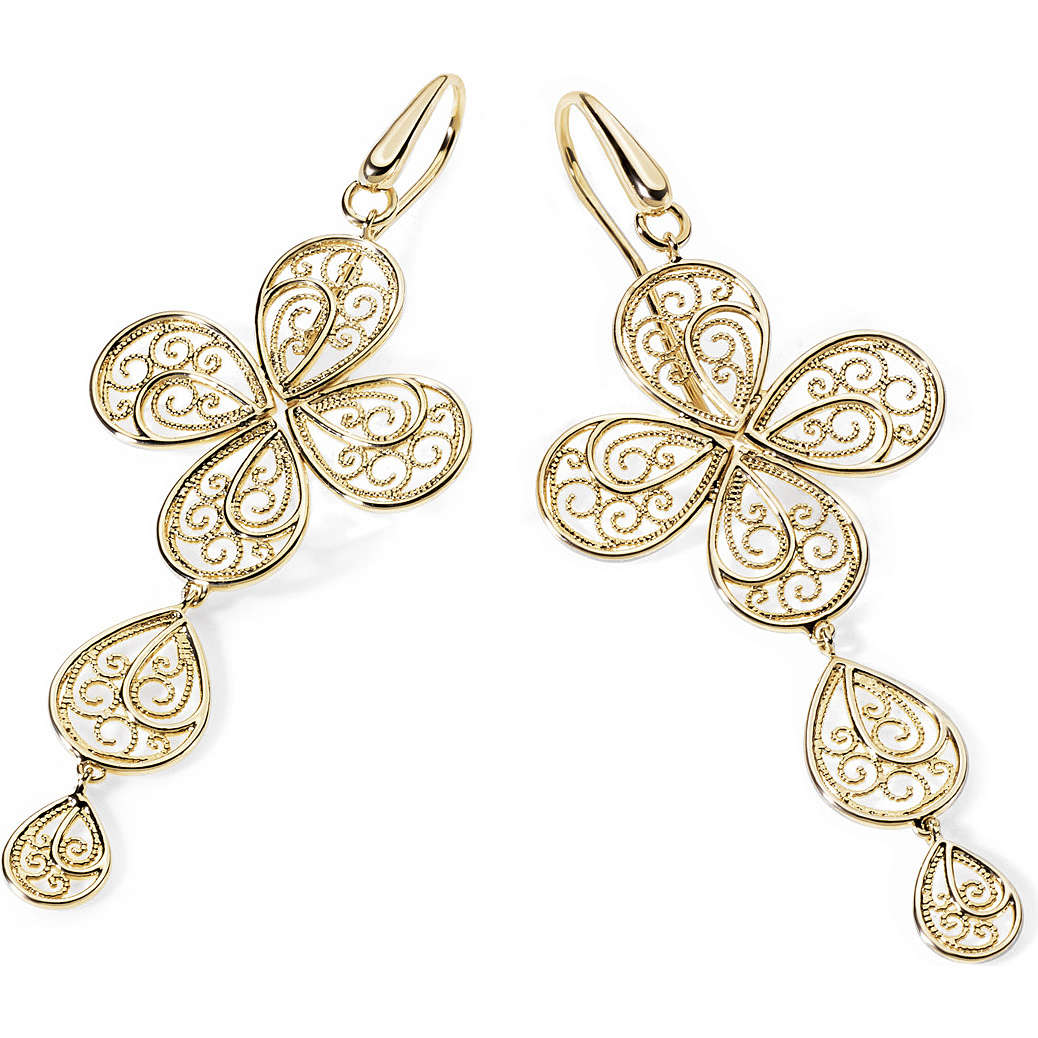ear-rings woman jewellery Ambrosia Bronzo ABO 003