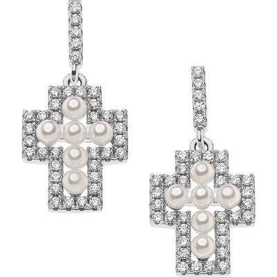 ear-rings woman jewellery Ambrosia Glam Love AAO 122