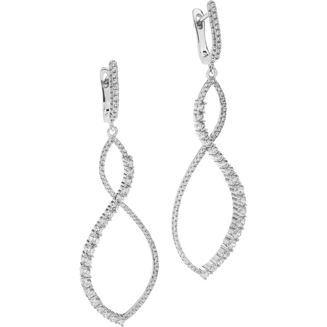 ear-rings woman jewellery Ambrosia Glam Love AAO 123