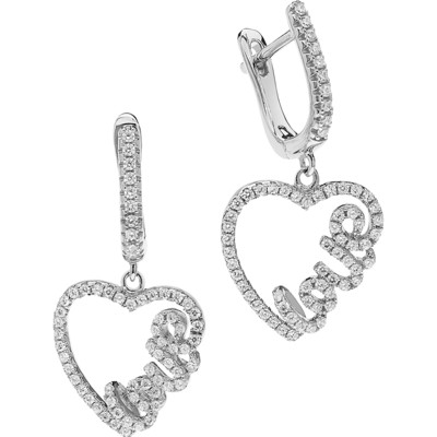 ear-rings woman jewellery Ambrosia Glam Love AAO 124