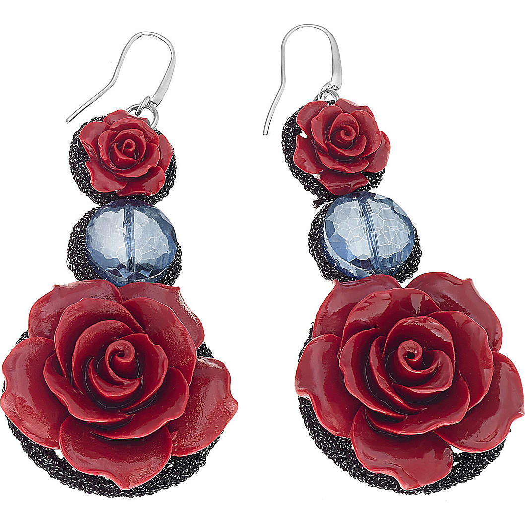 ear-rings woman jewellery Ambrosia Rose ABO 036