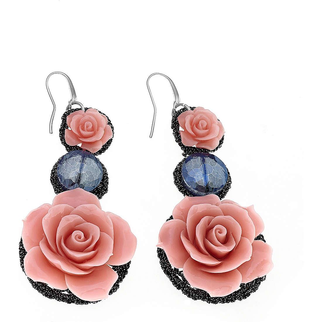 ear-rings woman jewellery Ambrosia Rose ABO 037