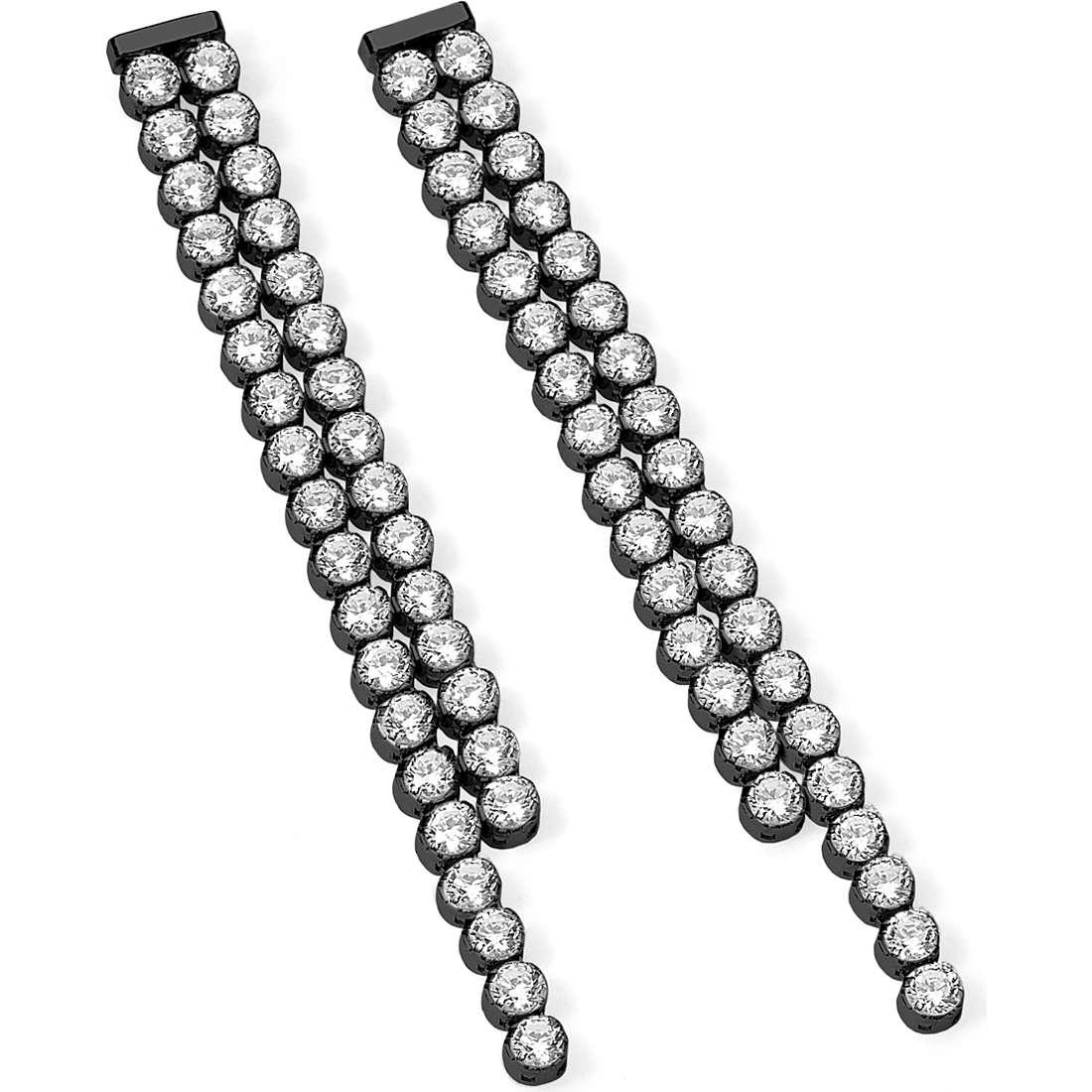 ear-rings woman jewellery Ambrosia Rows AAO 107