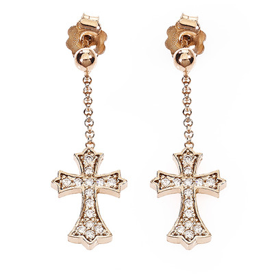 ear-rings woman jewellery Amen Padre Nostro ORCZR
