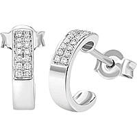 ear-rings woman jewellery Bliss Classic Pave' 20064430