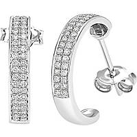 ear-rings woman jewellery Bliss Classic Pave' 20064432