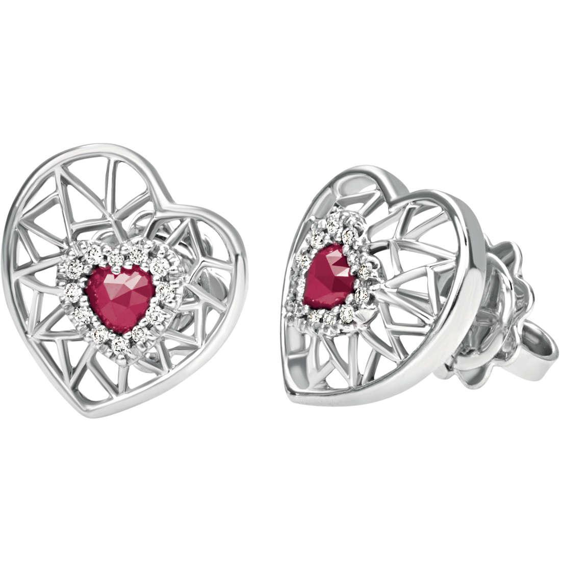 ear-rings woman jewellery Bliss Regina Di Cuori 20070738