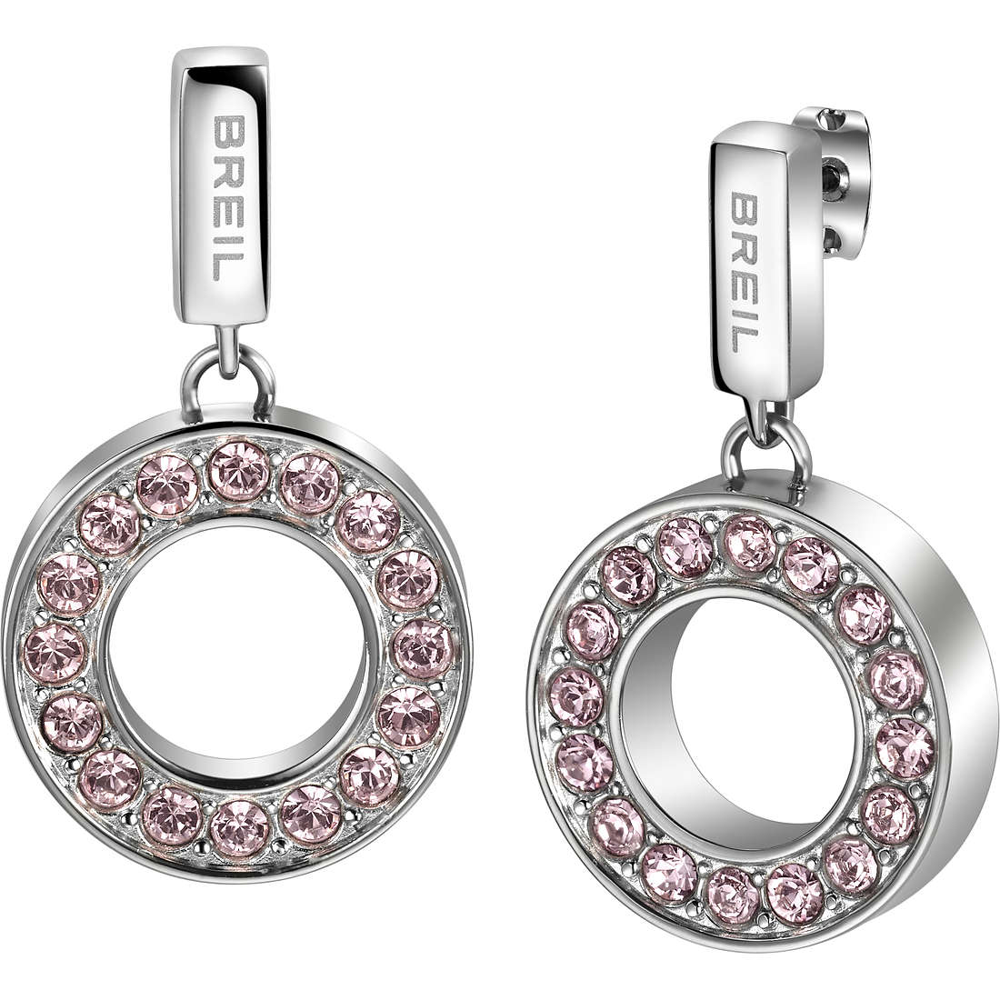 ear-rings woman jewellery Breil Breilogy Torsion TJ1735