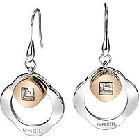ear-rings woman jewellery Breil Crossing Love TJ1580