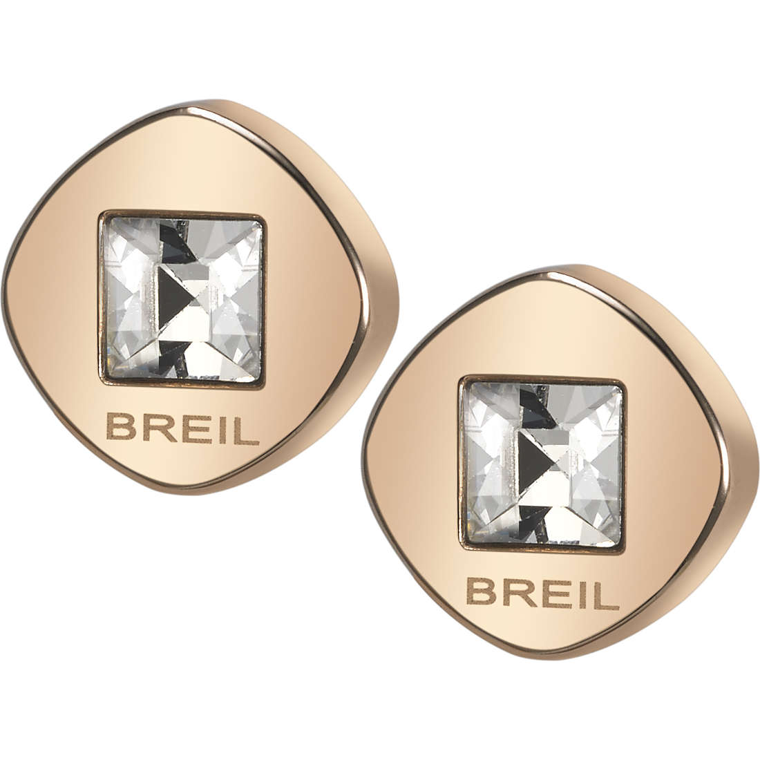 ear-rings woman jewellery Breil Crossing Love TJ1582