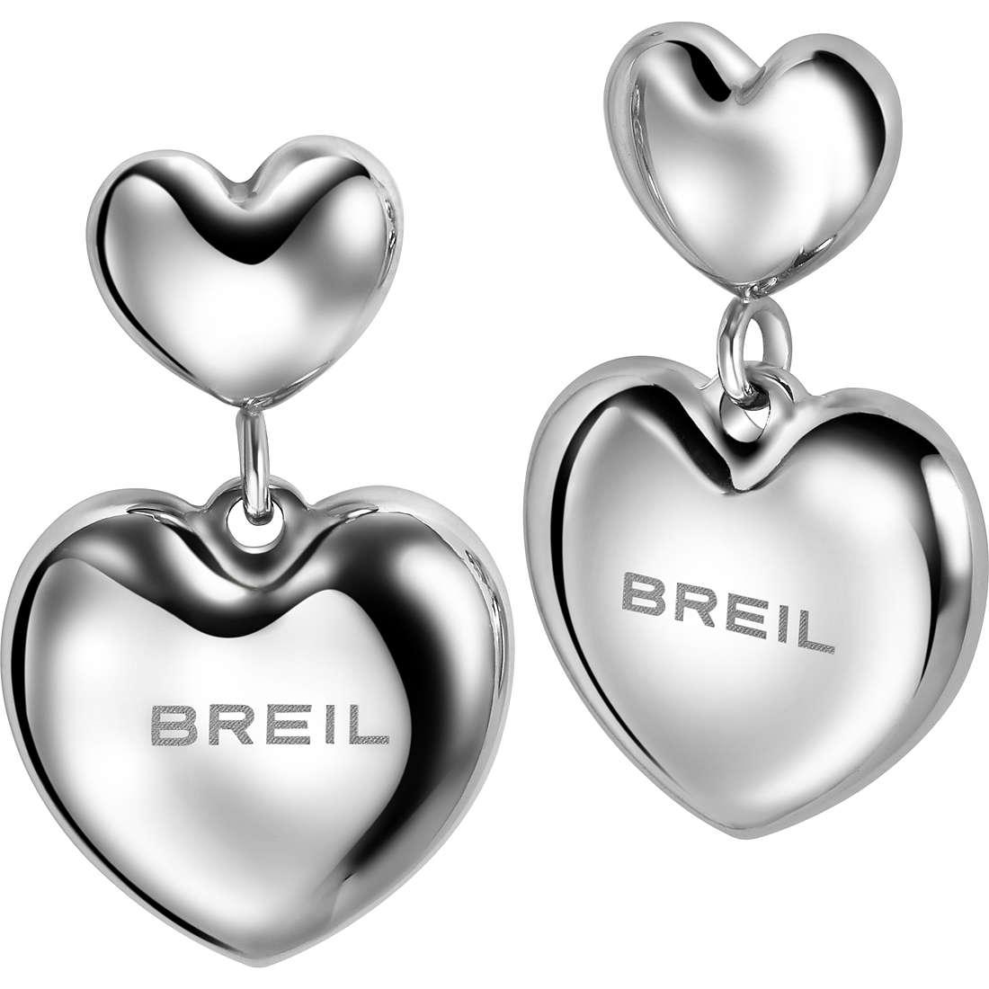 ear-rings woman jewellery Breil Love Around TJ1707