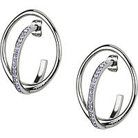 ear-rings woman jewellery Breil Mezzanotte TJ2196