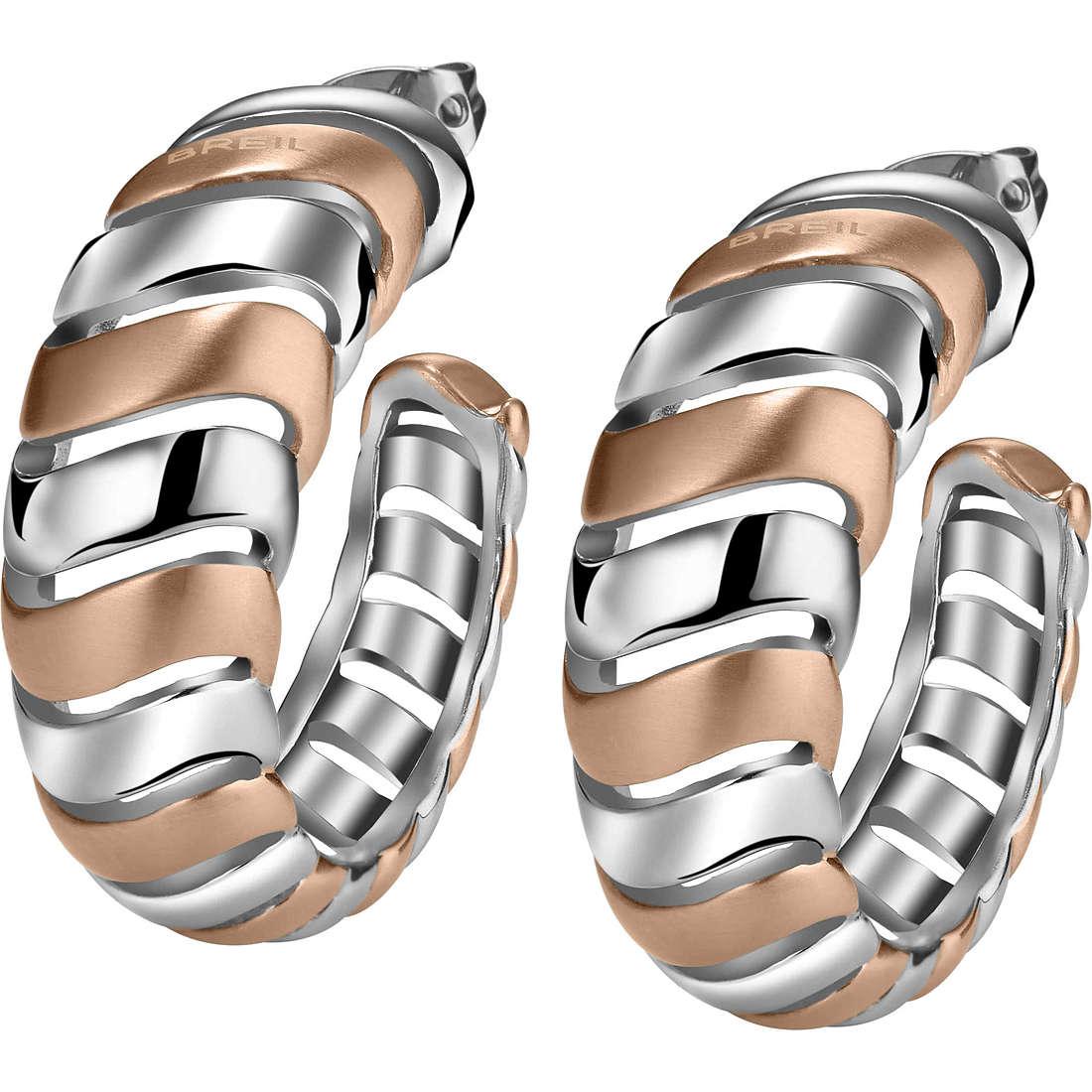 ear-rings woman jewellery Breil Nouvelle Vague TJ1438