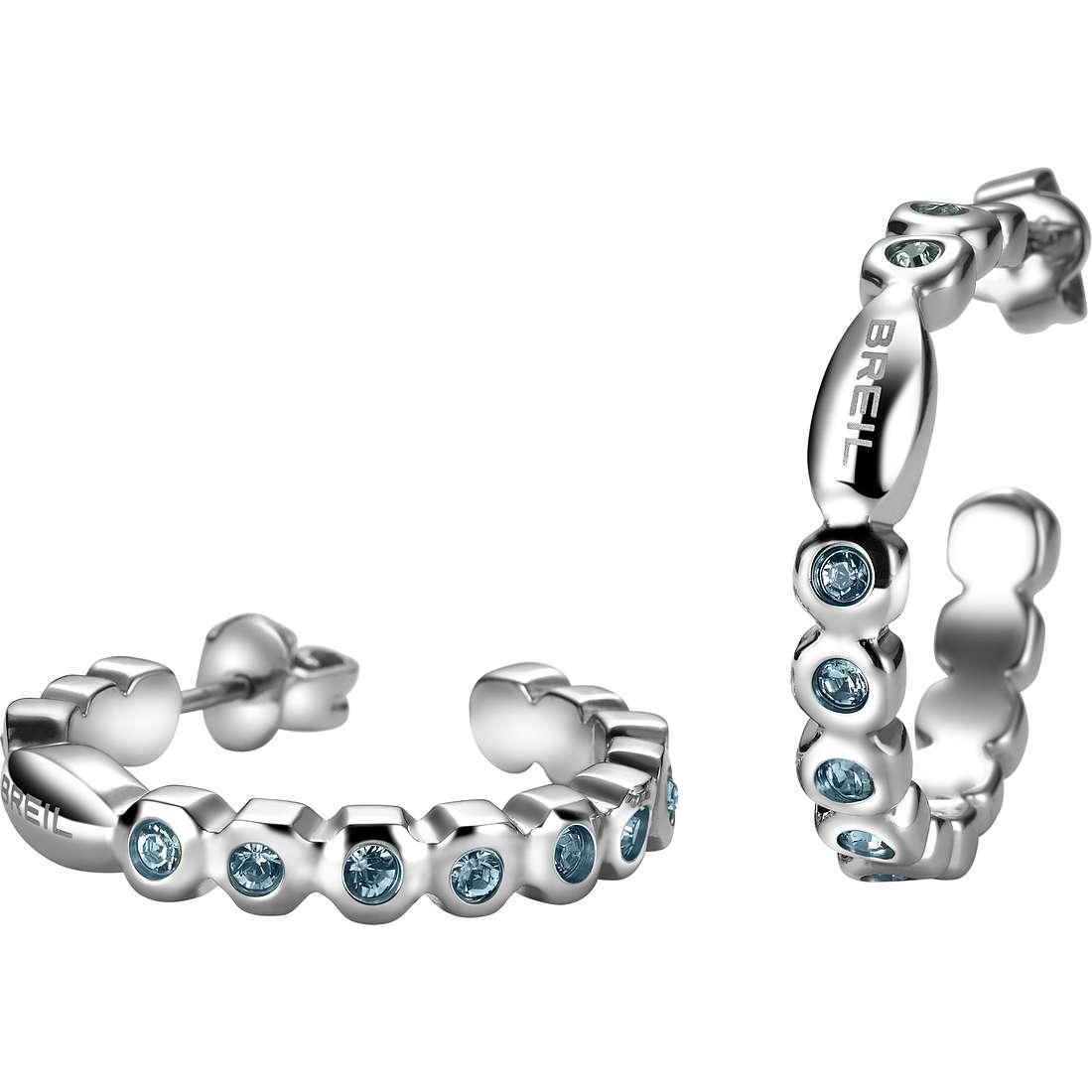 ear-rings woman jewellery Breil Rolling Diamonts TJ1573