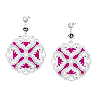 ear-rings woman jewellery Brosway CHIMERA BKM21