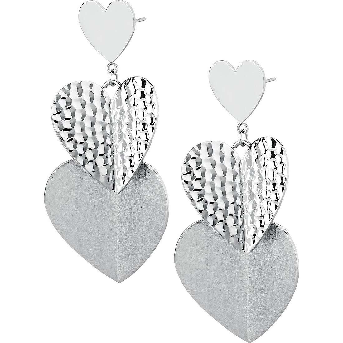 ear-rings woman jewellery Brosway Heart Beat BHB22
