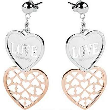 ear-rings woman jewellery Brosway Lovecharm BLH01