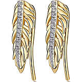 ear-rings woman jewellery Brosway Plume BUM24