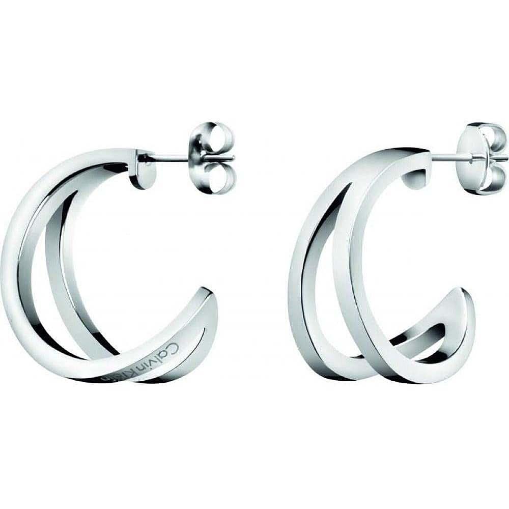 7ecad8850 ear-rings woman jewellery Calvin Klein Outline KJ6VME000100 earrings ...