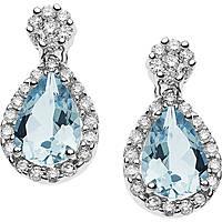ear-rings woman jewellery Comete Acquamarina ORQ 221