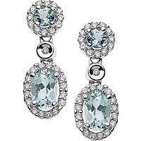 ear-rings woman jewellery Comete Acquamarina ORQ 222