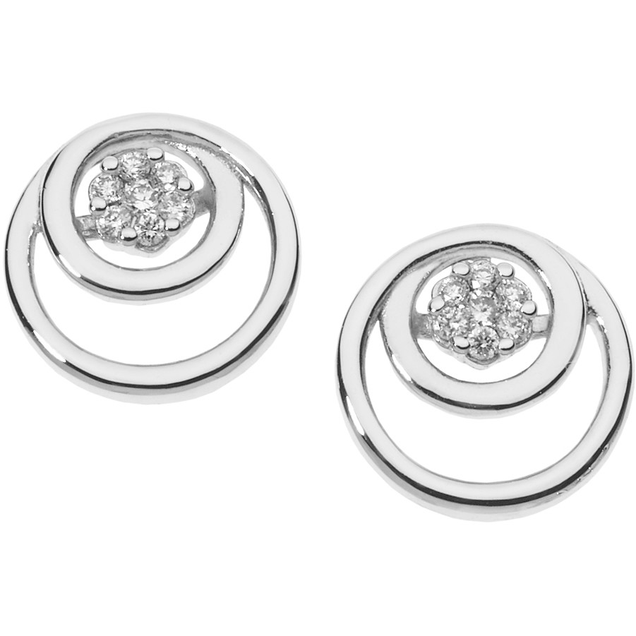 ear-rings woman jewellery Comete Fantasie di diamanti ORB 848