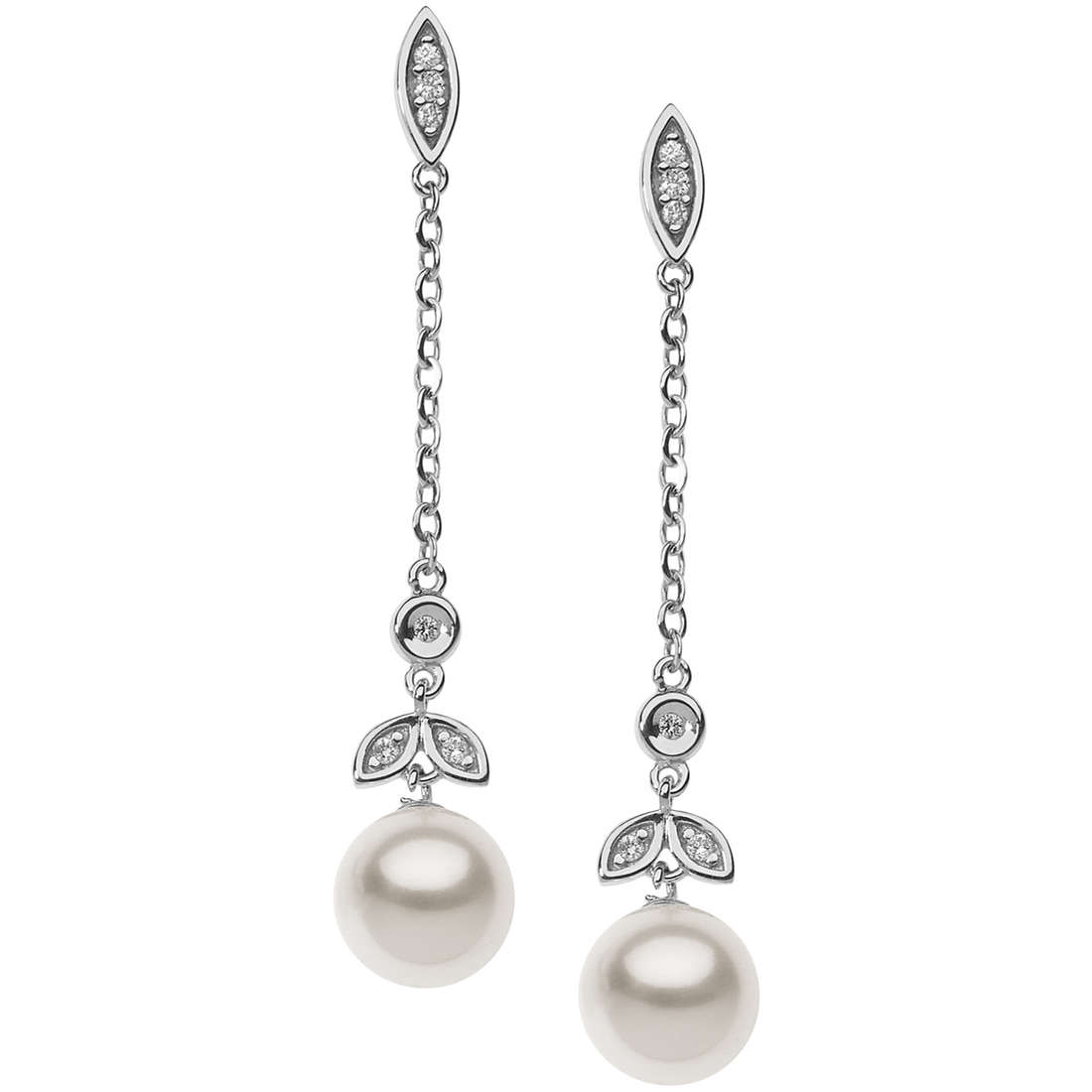 ear-rings woman jewellery Comete Fantasie di perle ORP 666