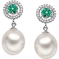 ear-rings woman jewellery Comete Perla ORP 476