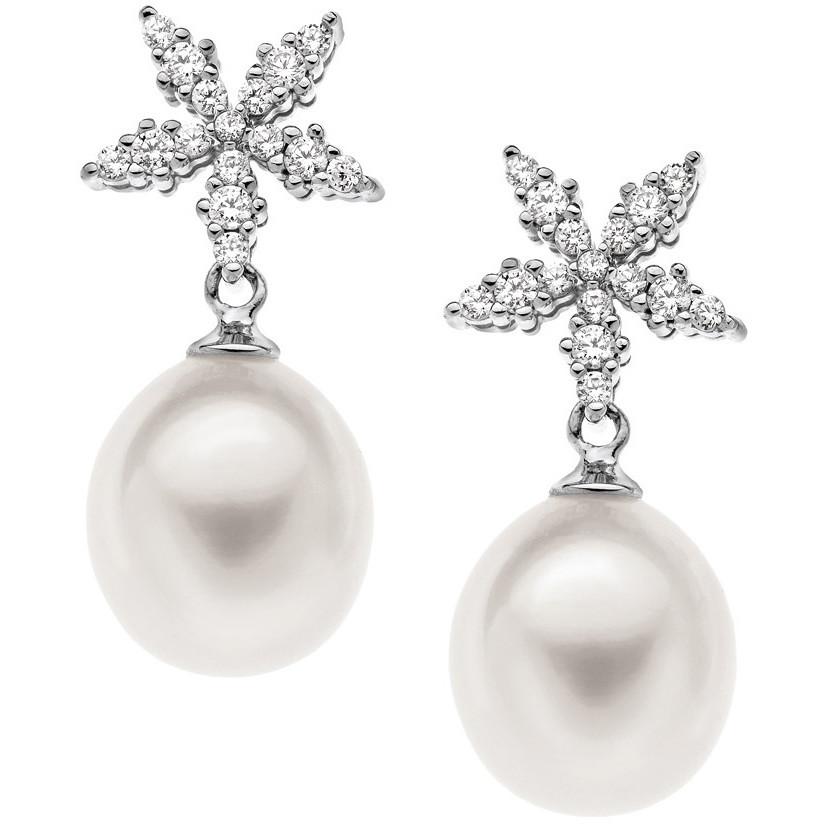 ear-rings woman jewellery Comete Perla ORP 504