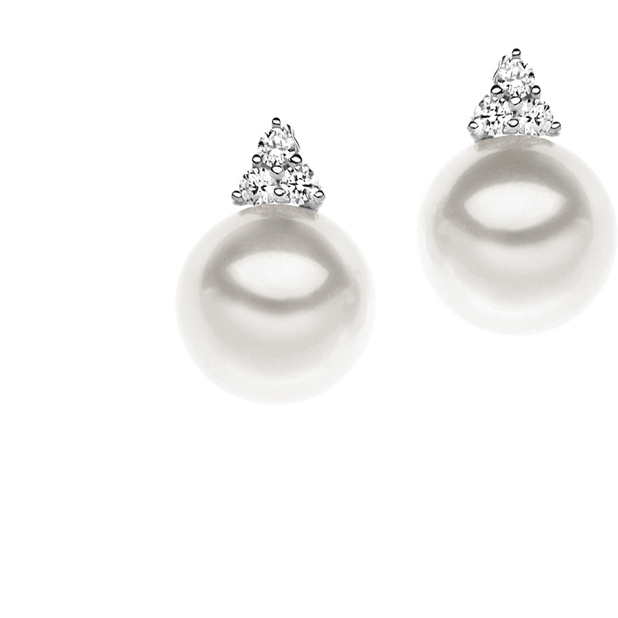 ear-rings woman jewellery Comete Perla ORP 532