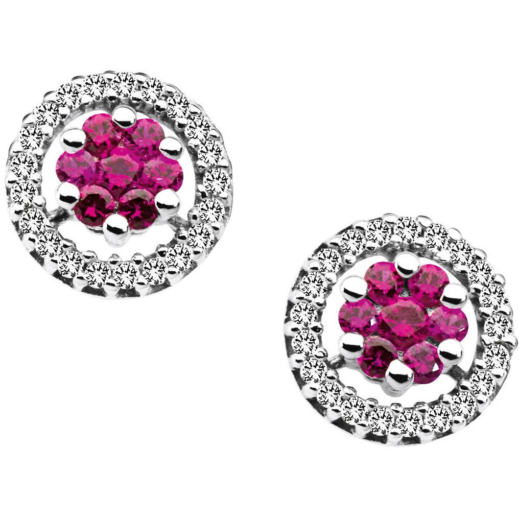 ear-rings woman jewellery Comete Pietre preziose colorate ORB 520