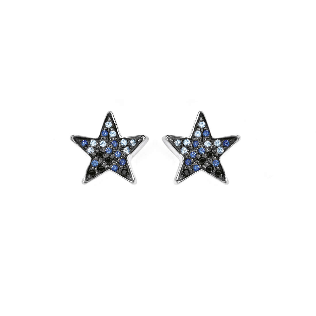 ear-rings woman jewellery Comete Pietre preziose colorate ORB 656