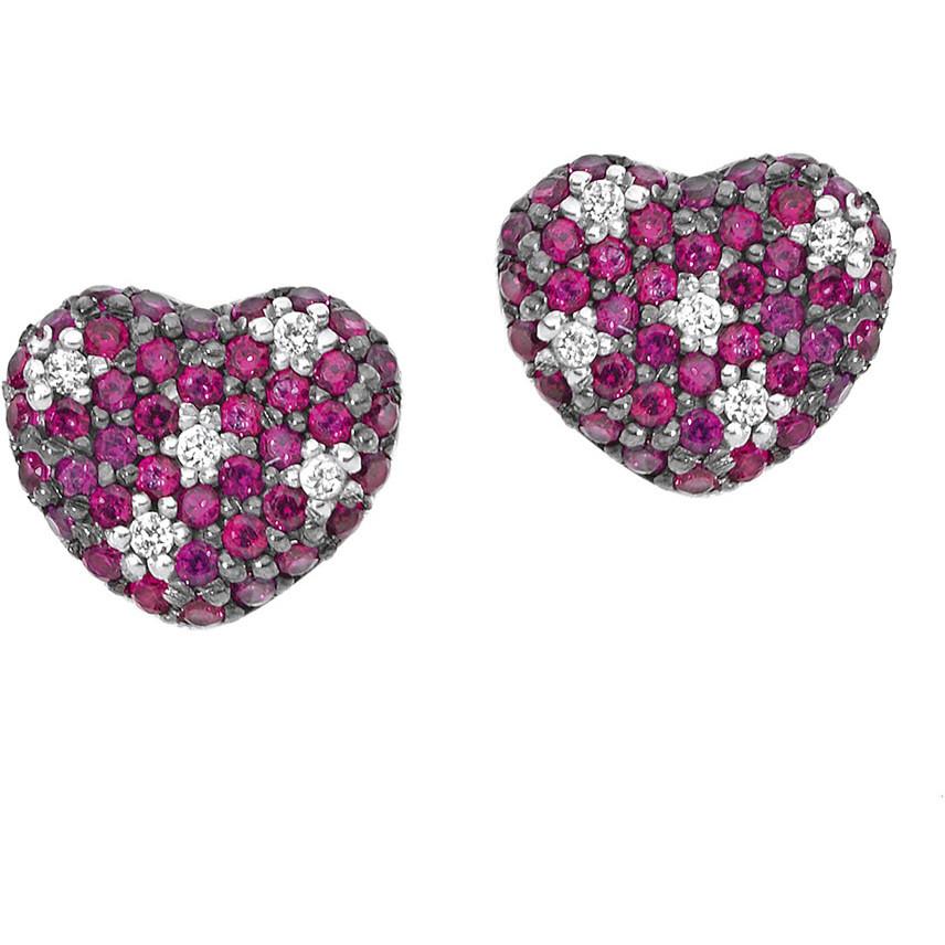 ear-rings woman jewellery Comete Pietre preziose colorate ORB 660