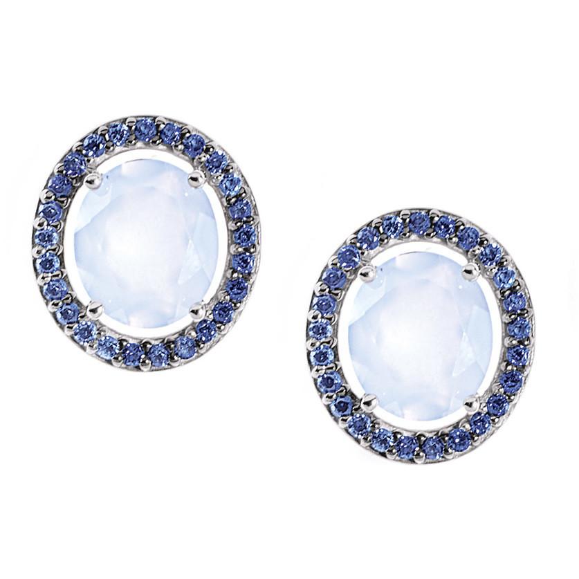 ear-rings woman jewellery Comete Pietre preziose colorate ORB 661