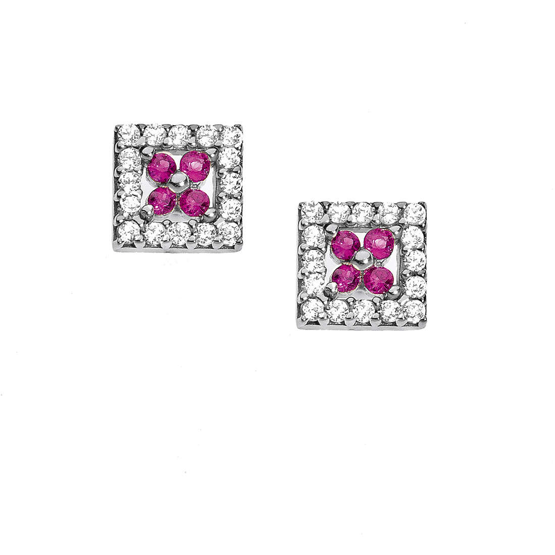 ear-rings woman jewellery Comete Pietre preziose colorate ORB 682