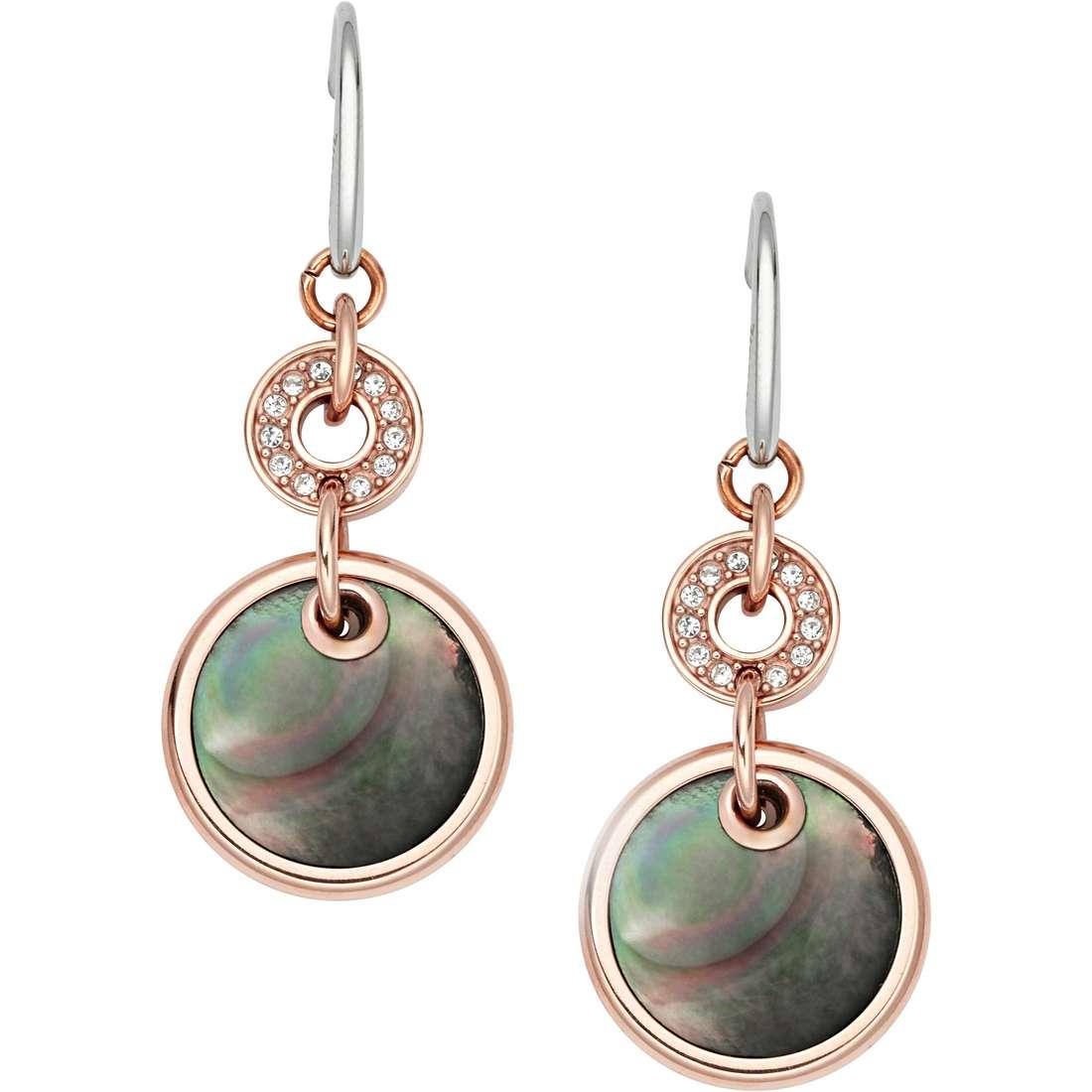 ear-rings woman jewellery Fossil Fall 14 JF01415791