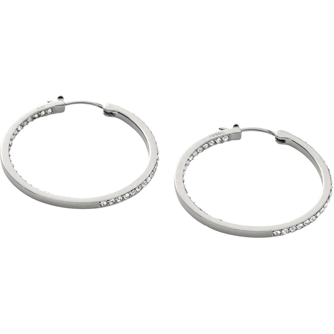 ear-rings woman jewellery Fossil JF00039040