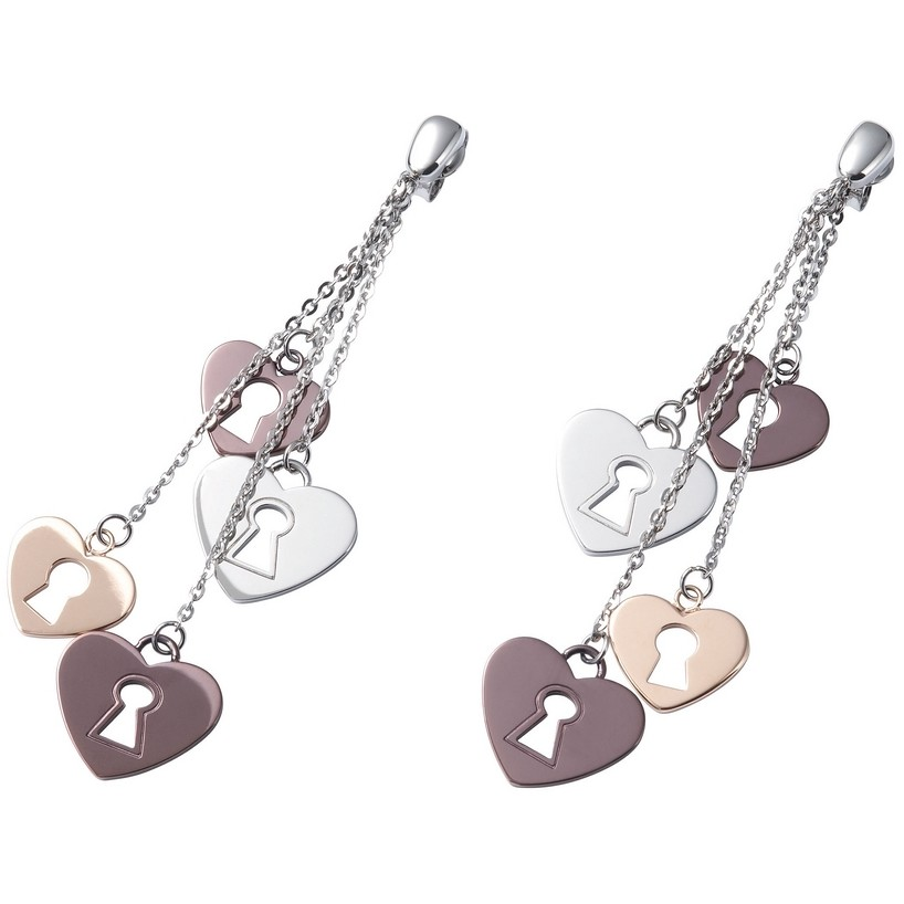 ear-rings woman jewellery Fossil JF83465040