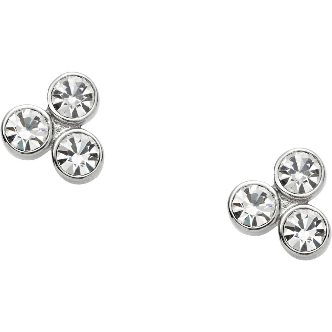 ear-rings woman jewellery Fossil Vintage Glitz JF01439040