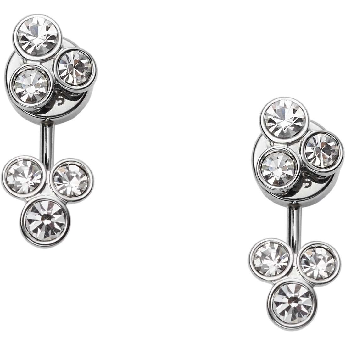 ear-rings woman jewellery Fossil Vintage Glitz JF02315040